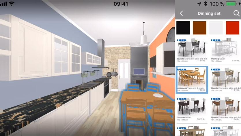 3D kitchen design app android diseña tu cocina