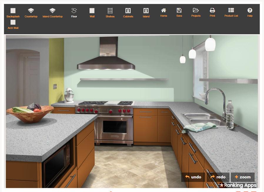 Design a Room diseña la cocina con materiales laminados, melamina, formica