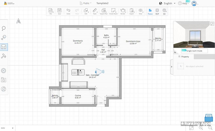 HomeStyler App aplicación para hacer planos de casas y diseño de interiores