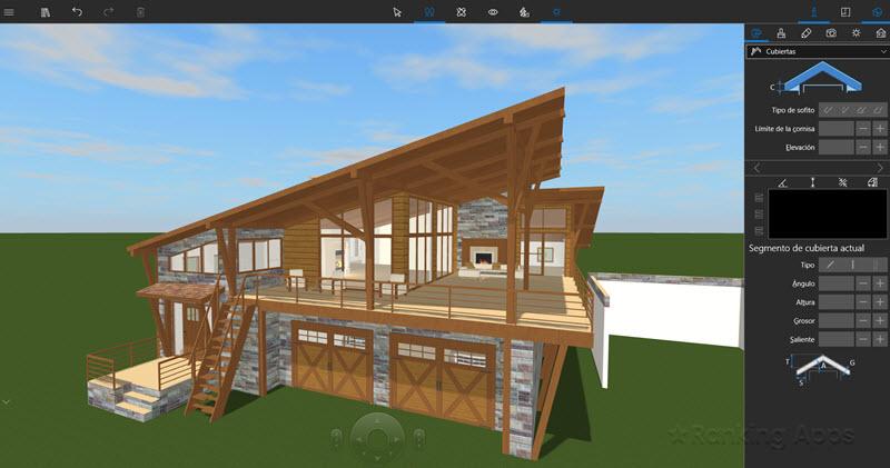 Live Home 3D aplicación descargar para Windows, Macos, ios hace planos de casas detallados interiores y fachadas
