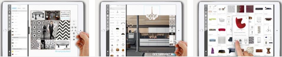 Apps para dispositivos móviles que permiten graficar ideas del  diseño interior desde fotos hasta equiparlas con muebles