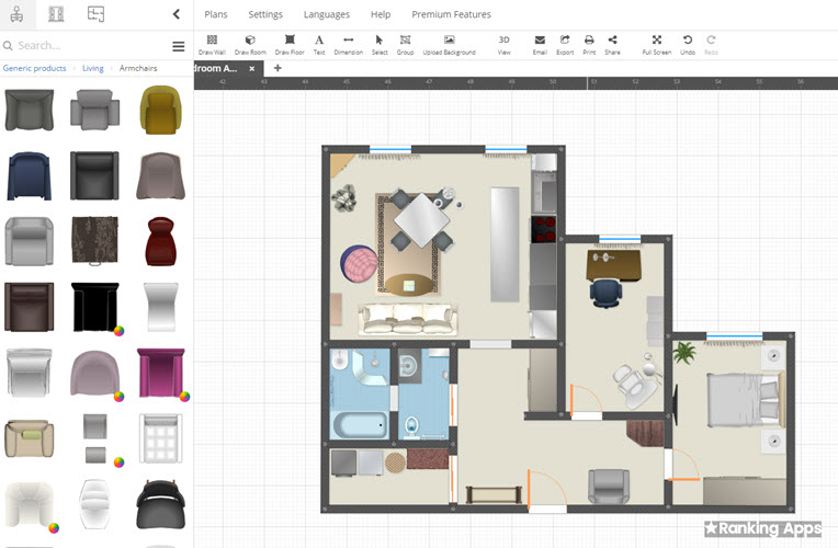 Planning Wiz hace planos de casas