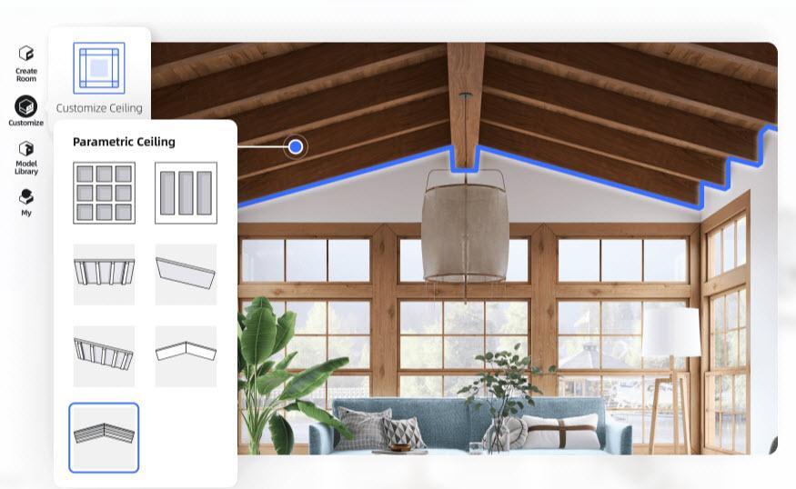 Diseño de techos con HomeStyler